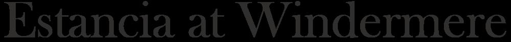 Estancia at Windermere